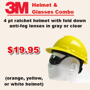 3M Helmet and Glasses Ad