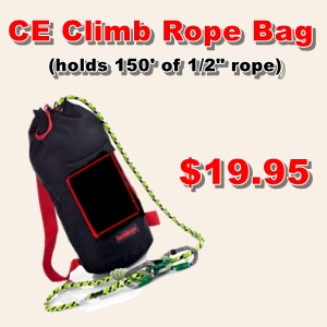 CE Climb Rope Bag Ad
