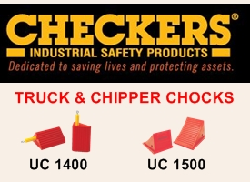 Checker Chock Ad