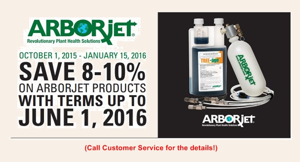 ArborJet Early Order Program