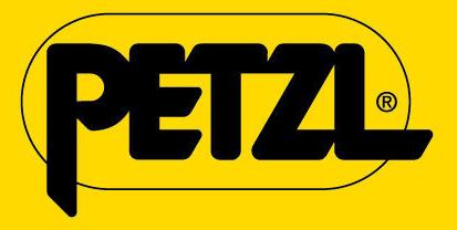 Logo firmy Petzl, vybavenie pre prácu vo výškach, OOPP, BOZP