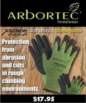 Arbortec Escape Cut Level 5 Climbing Glove