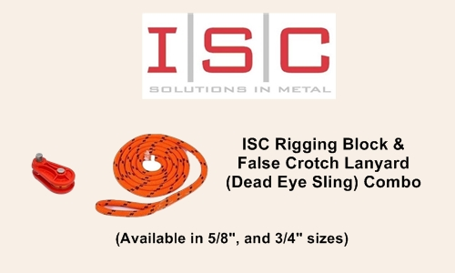 ISC Block and Lanyard Ad