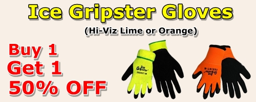 Ice Gripster Glove Ad