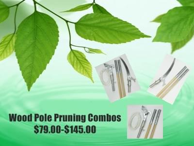 Wood Pole Pruning Combo Ad