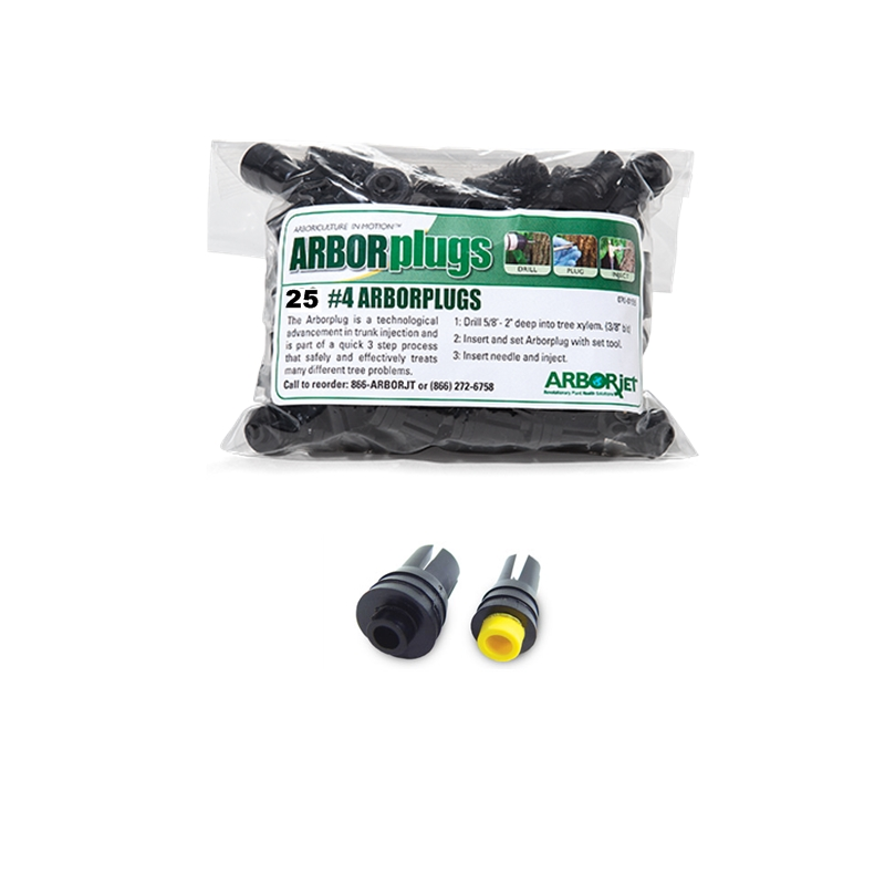 Arborjet Plugs #4<Br>(25 pack)