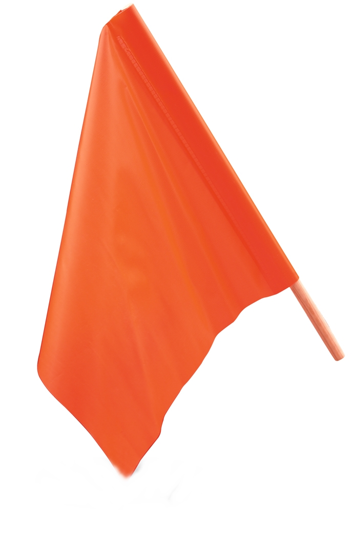 "18"" x 18"" Safety Flags"
