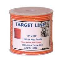 Target Line Throw Line - 200 ft.