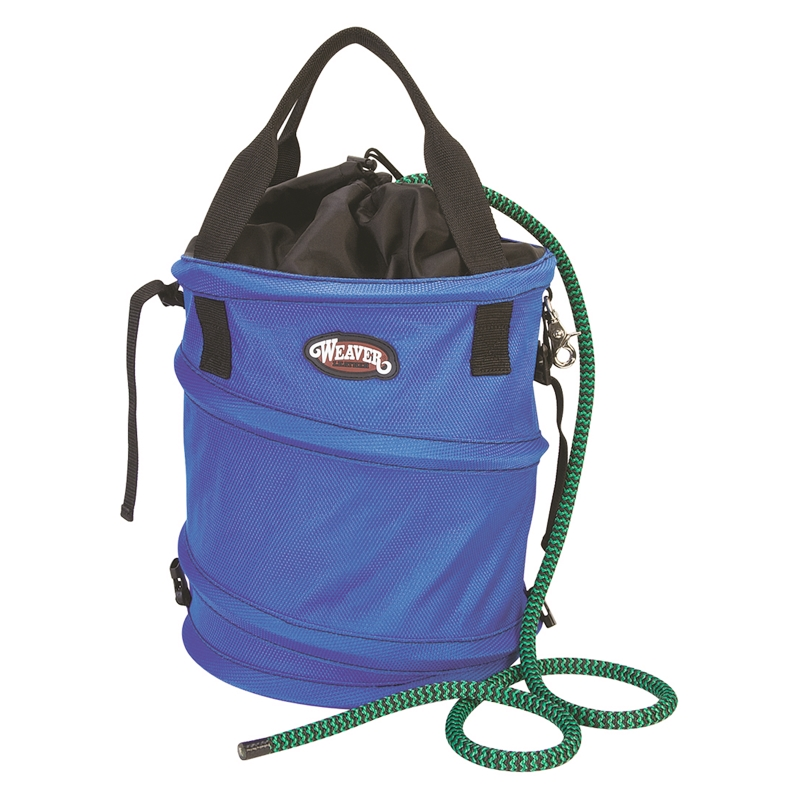 Weaver Rope Bag-Blue