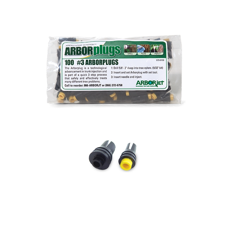 Arborjet Plugs #3<br>(100 pack)