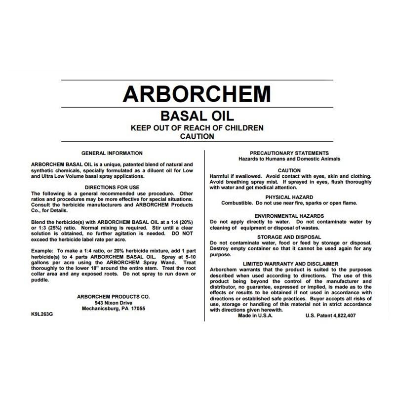 Herbicides  American Arborist Supplies, tree care, climbing equipment