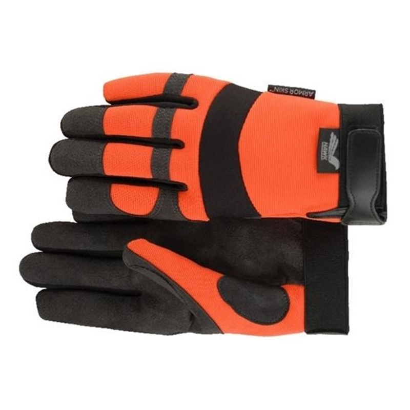 Hawk Armorskin Gloves Orange Arborist Supplies