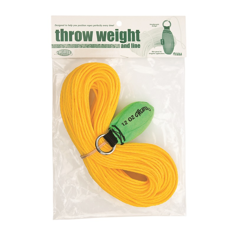 Weaver 12 oz. Throw Weight & Line