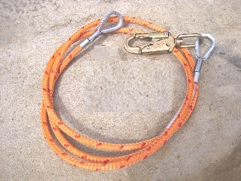 8' Steelcore Lanyard-Swivel Snap