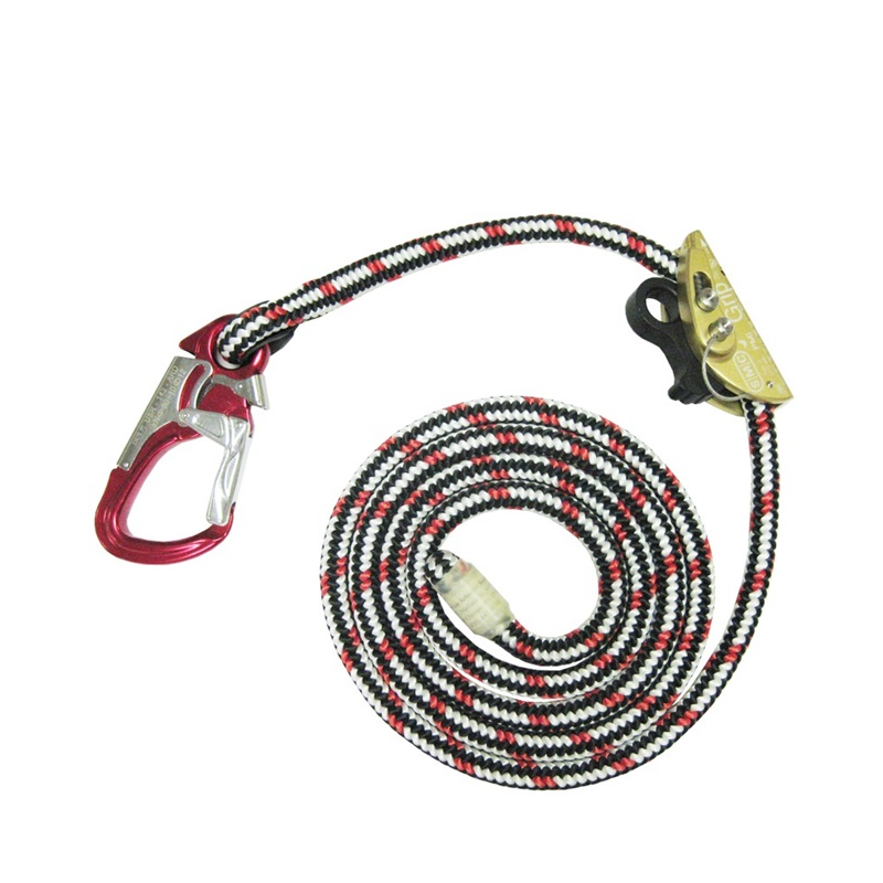 10' RG Safety Lanyard w/ USR Triple Snap