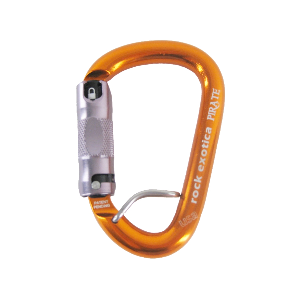 Rock Exotica Pirate Carabiner with Eye