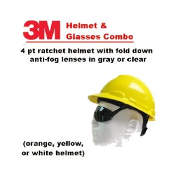 3M Helmet and Integrated Lenses