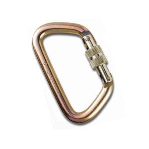 Omega Pacific Steel Screwlock Carabiner