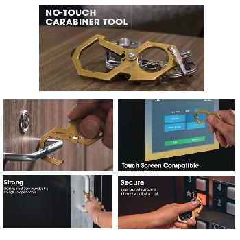 No Touch Carabiner Tool