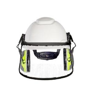 3M Forestry System  w/ Lo Pro Muffs - White